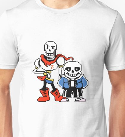 Undertale - Sans and Papyrus Unisex T-Shirt