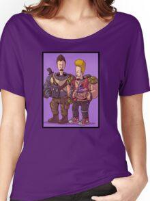 Beavis & Butthead Bebop & Rocksteady Women's Relaxed Fit T-Shirt