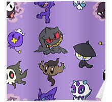 Ghost Pokemon Poster