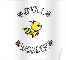 Small Wonder - Nursery Decor Poster