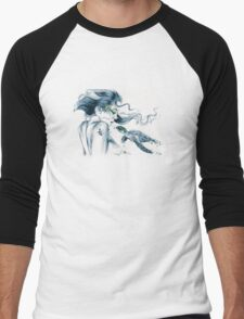 Sea Turtle Totem Men's Baseball ¾ T-Shirt