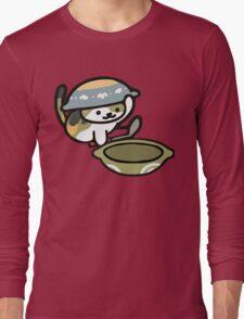 Chairman Meow - Neko Atsume Long Sleeve T-Shirt