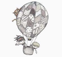 Balloon Cruising One Piece - Short Sleeve