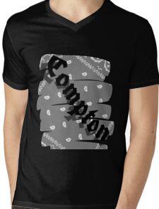 Compton Mens V-Neck T-Shirt