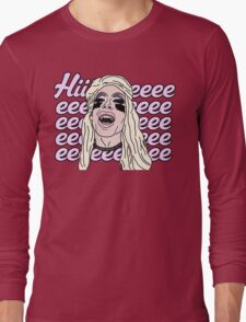 Hiieeeeeeeee Long Sleeve T-Shirt