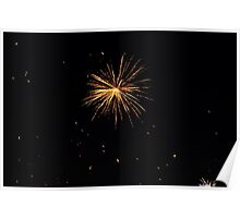 firework for celebration time  Poster