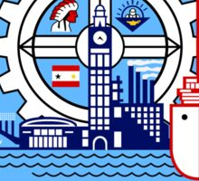 Milwaukee flag Sticker