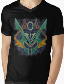 Mega Rayquaza Mens V-Neck T-Shirt