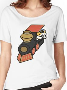Conductor Whisker - Neko Atsume Women's Relaxed Fit T-Shirt
