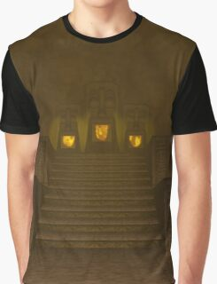 Fire Temple entrance from The Legend of Zelda: Ocarina of Time Graphic T-Shirt