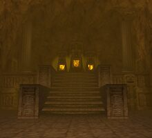 Fire Temple entrance from The Legend of Zelda: Ocarina of Time by UnitShifter