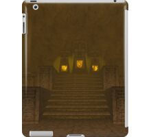 Fire Temple entrance from The Legend of Zelda: Ocarina of Time iPad Case/Skin