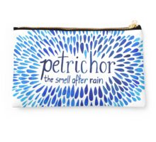 Word Porn: Petrichor, the smell after rain Studio Pouch