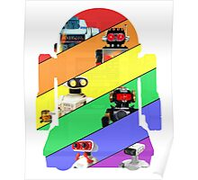 We are the ROBOTS (retro edition) Poster