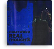Hollywood Real Thoughts Canvas Print