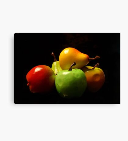 Fruit Stack Canvas Print