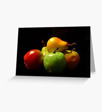 Fruit Stack Greeting Card