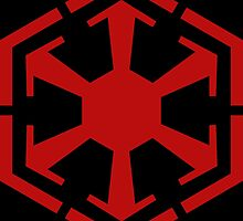 Empire Logo | Red | Black Background | HIGH QUALITY by Gerald Den