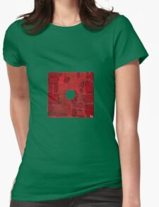 floppy 22 Womens Fitted T-Shirt