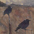 snow birds by resonanteye