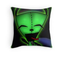 Invader Z (Gir) Throw Pillow