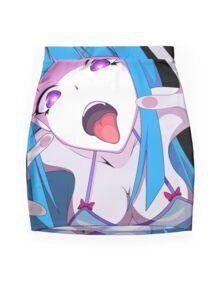 Mememe! Ecchi Anime Girl Mini Skirt