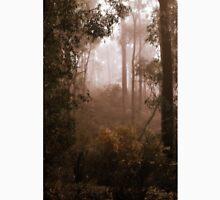 Bushwalking in the Fog By Lorraine McCarthy Unisex T-Shirt