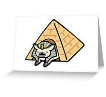 Ramses The Great - Neko Atsume Greeting Card