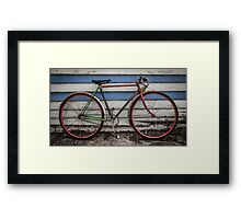 Northcote Vintage Bicycle Framed Print