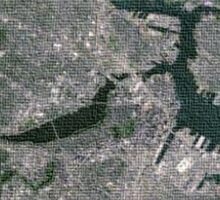 Boston Aerial  Sticker