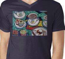 Tea for Three  Mens V-Neck T-Shirt