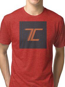 T-Rent & Crank Logo Tri-blend T-Shirt