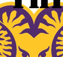 West Chester University RAM THIS Sticker