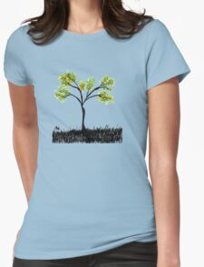 tree 11 Womens Fitted T-Shirt