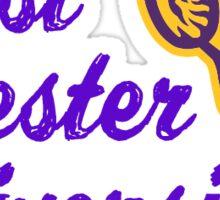 West Chester University Sticker