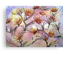 Bush Flowers  Canvas Print