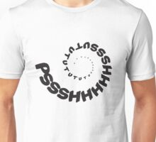 PSHHSUTUTU - Turbo Dose Boost Noise JDM Window Sticker / Tee - Black Unisex T-Shirt