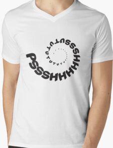 PSHHSUTUTU - Turbo Dose Boost Noise JDM Window Sticker / Tee - Black Mens V-Neck T-Shirt