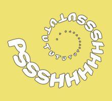 PSHHSUTUTU - Turbo Dose Boost Noise JDM Window Sticker / Tee - White Kids Tee
