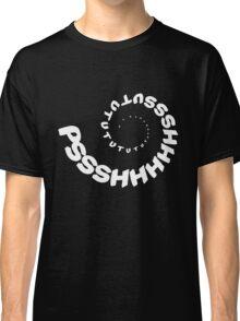 PSHHSUTUTU - Turbo Dose Boost Noise JDM Window Sticker / Tee - White Classic T-Shirt
