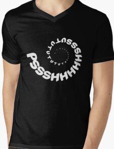 PSHHSUTUTU - Turbo Dose Boost Noise JDM Window Sticker / Tee - White Mens V-Neck T-Shirt