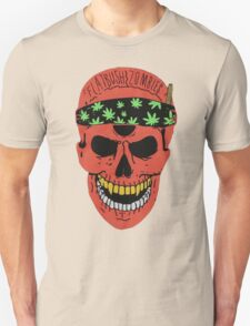Flatbush Zombies Red Skull Tee T-Shirt