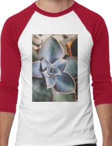 close up of succulent Men's Baseball ¾ T-Shirt