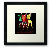 Candy Store Framed Print