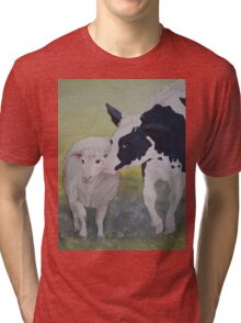 Best of Friends 2 by Heather Holland Tri-blend T-Shirt