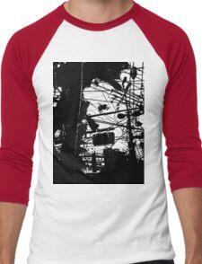 punk in the rain 3 Men's Baseball ¾ T-Shirt