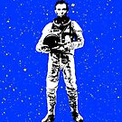 Astronaut Lincoln by monsterplanet