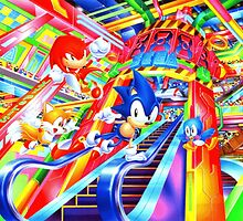 Sonic the Hedgehog in Joypolis by UnitShifter