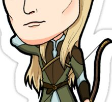 Lord of the Rings - Legolas the Elf with Bow Sticker