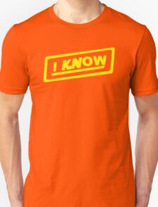 I Know funny nerd geek geeky T-Shirt